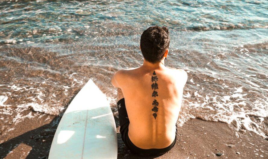 Tatouage éphémère pour homme sur le dos : qui contacter ?